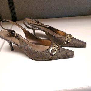 Etienne Aigner sling back shoes